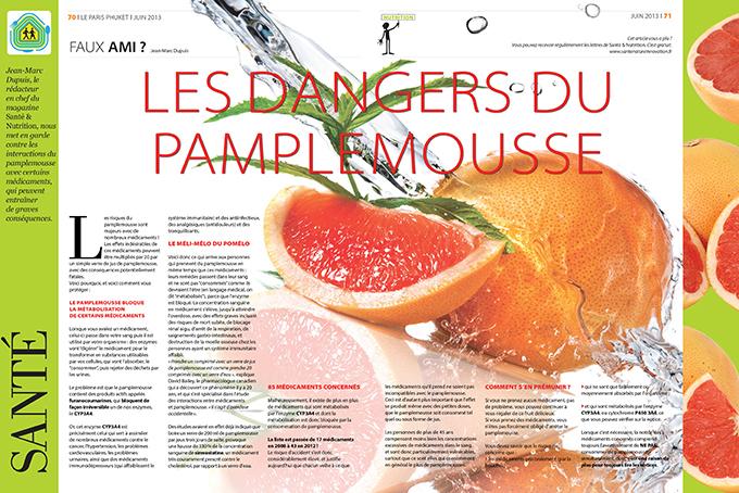 Layout magazine Le Paris Phuket - Thailand - Laetitia Botrel