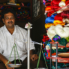 Silk seller in Mysore, India - Laetitia Botrel | Photography