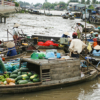 Floating market on Sông Cần Thơ, Can Tho, Vietnam - Laetitia Botrel | Photography