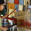 Young girl working on silk, Langbian Vietnam - Laetitia Botrel | Photography