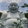 Laughing Buddha in Lang Bian, Dalat Vietnam - Laetitia Botrel | Photography